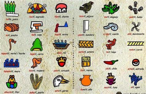 imagenes de signos aztecas algunos glifos aztecas y su significado info taringa