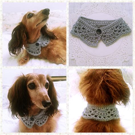 crochet scarf collar bandana cowl cat