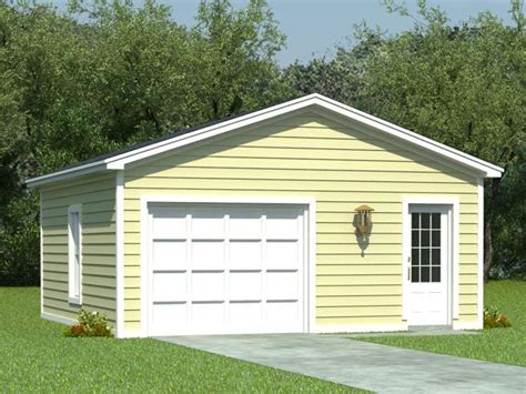 One Car Garage Ideas by One Car Garage Plans 1 Car Garage Plan With Storage