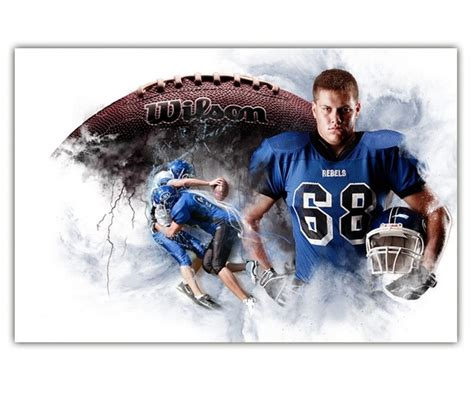 1000 Images About Senior Sport Montages On Pinterest Football Senior Sports Photography And Layered Photoshop Sports Templates