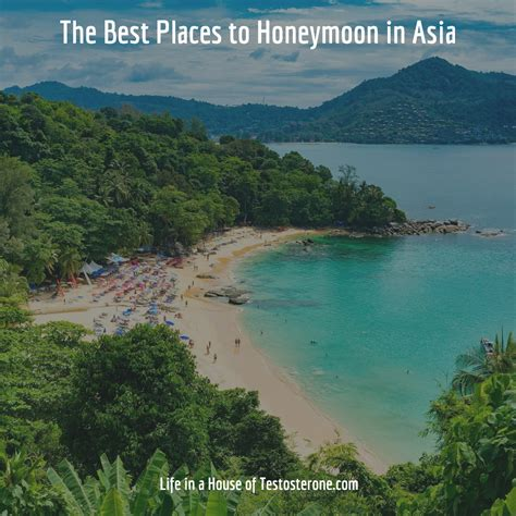 best places to a honeymoon the best places to honeymoon in asia