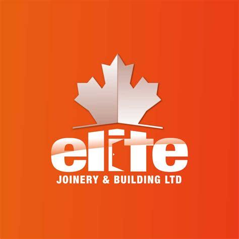 icon design build ltd elegant playful logo design for elite joinery building