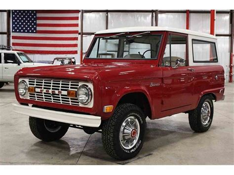 1960s ford bronco 1969 ford bronco for sale classiccars cc 971868