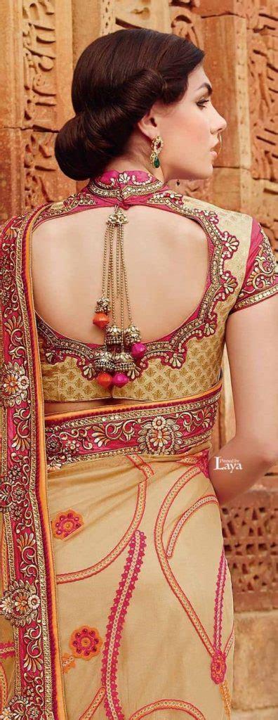 latest trend  blouse designs  lehenga  saree
