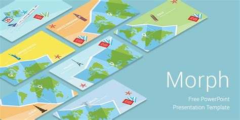 Morph Travel Free Download Powerpoint Templates For Presentation Powerpoint Travel Templates
