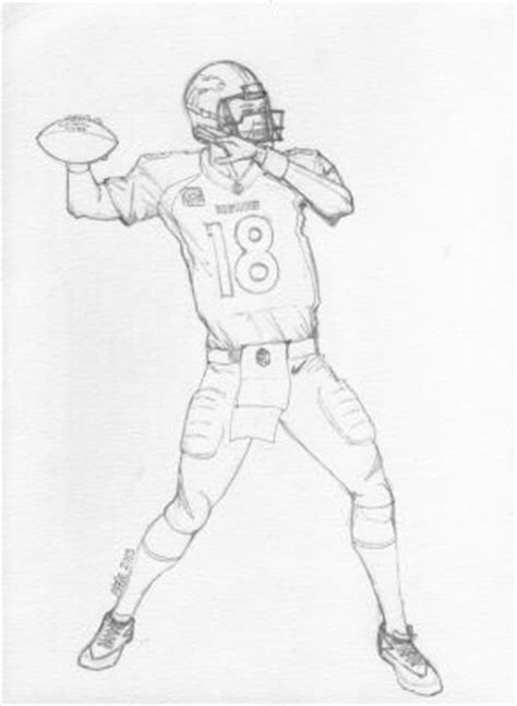 Peyton Manning Coloring Pages paul s 187 2013 187 september