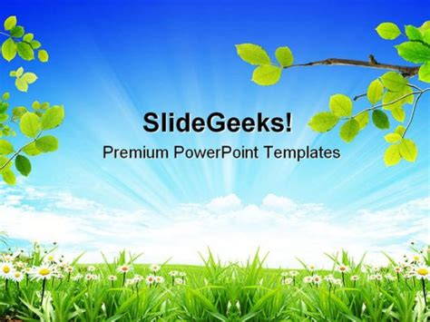 powerpoint templates nature free download gallery