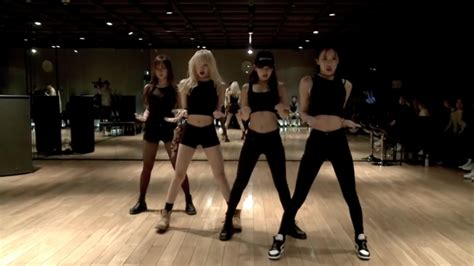 blackpink dance blackpink s dance practice video hits 6 million views on