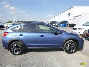 Blue Subaru Crosstrek Quartz Blue Pearl 2015 Subaru Xv Crosstrek 2 0i Limited