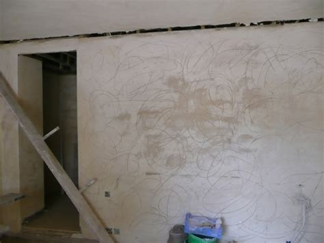 lime plaster and subsequent decoration baty