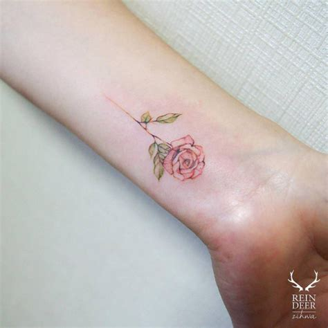 rose bracelet tattoos 30 tiny chic wrist tattoos that are better than a
