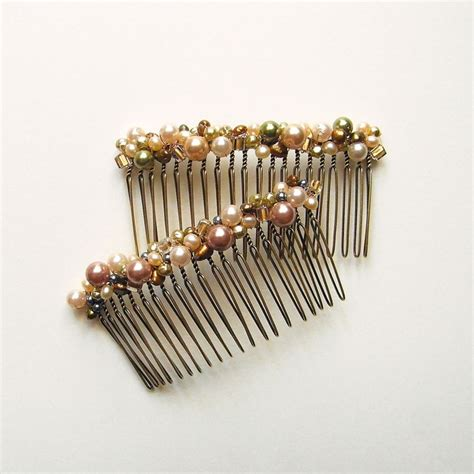 beaded hair combs 17 best images about beaded hair comb ideas on