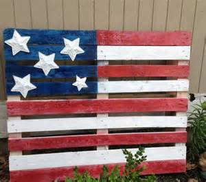 Pallet american flag for the home pinterest