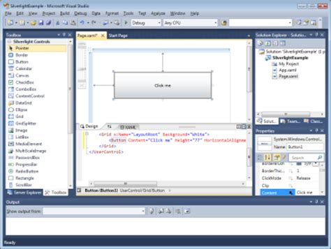 xaml layout slow new visual studio 2010 beta has wpf editor silverlight