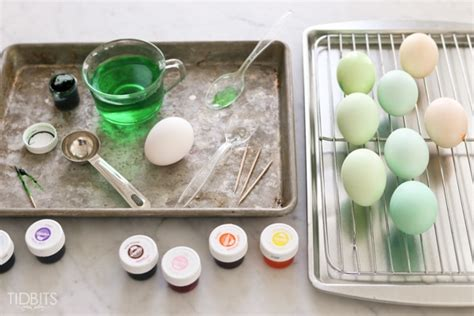 color eggs with food coloring how to dye eggs with food coloring tidbits