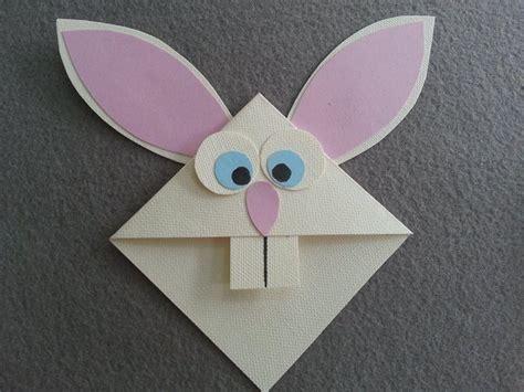 Paper And Scissors Crafts - diy bunny bookmark createsie