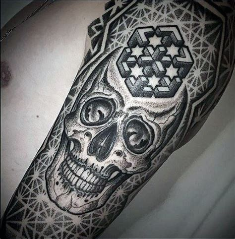 complex tattoo designs 50 geometric sleeve designs for complex ink ideas