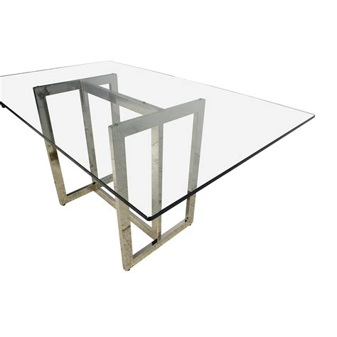elm glass table 61 elm elm hicks glass top dining table