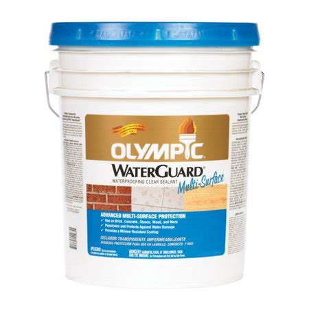 olympic waterguard multi surface waterproofing clear