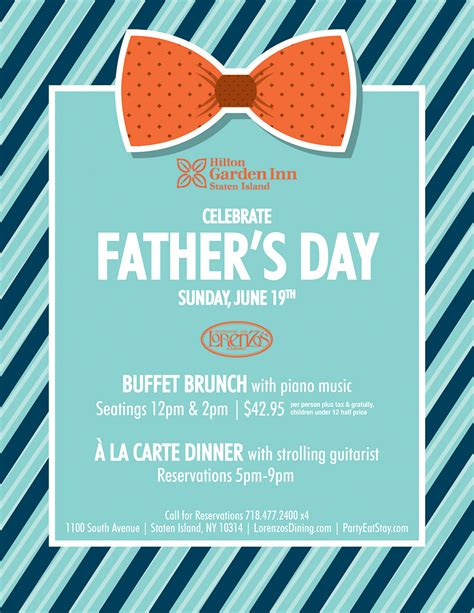 fathers day brunch 2018 2016 professionals celebrations calendar pdf
