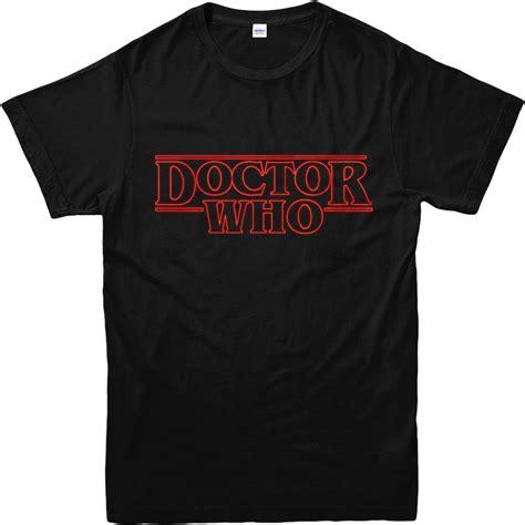 design t shirt high quality doctor who t shirt stranger things spoof t shirt