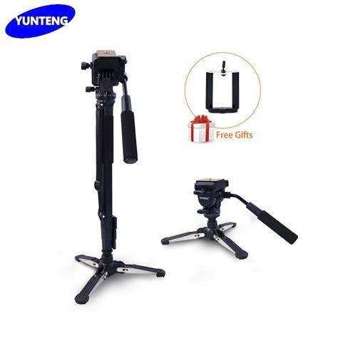 tripod mini yunteng yt228 holder u yunteng vct 288 photography mini tripod monopod stand