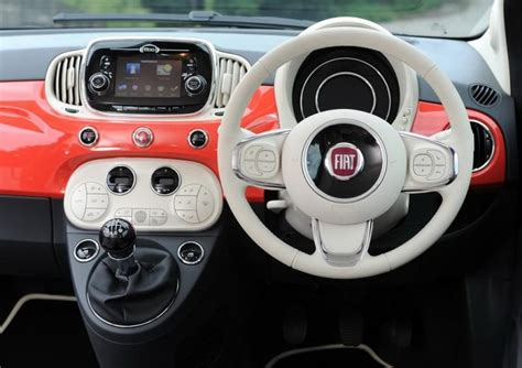 fiat 500 upholstery 2017 fiat 500 redesign hatch price release date interior