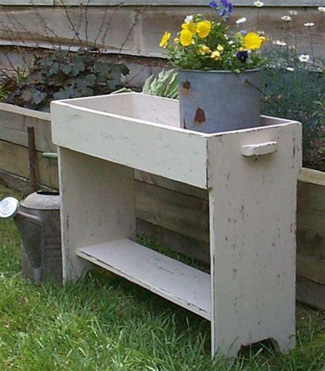 primitive bucket bench primitive bucket potting crock bench pattern plan wn104