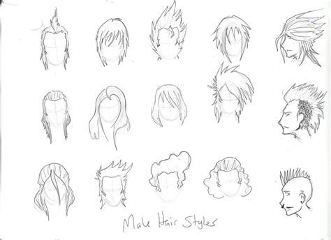 how to draw spiky anime hair spiky hair anime guy coloring pages