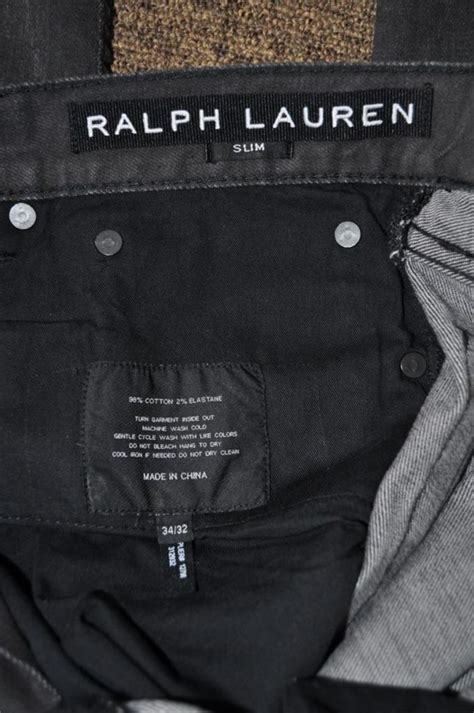 Po Bordir By The Prime Store new authentic ralph black label slim premium