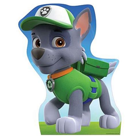 what of is rocky from paw patrol paw patrol member no of friendship teamwork and bravery remember no is