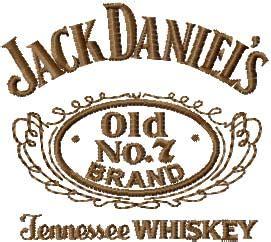 Jack Daniels Wall Stickers jack daniel s tennessee whiskey logo machine embroidery design