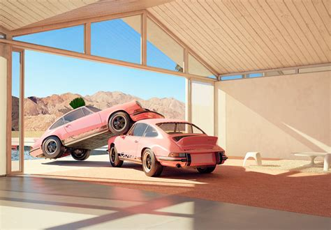 pink porsche interior shop chris labrooy