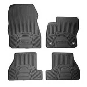 ford dm5z 5413300 ac floor mat rubber set focus st 2013 2017
