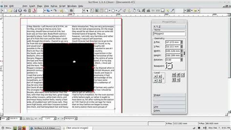tutorial scribus youtube scribus video tutorial part 3 text around an image 1