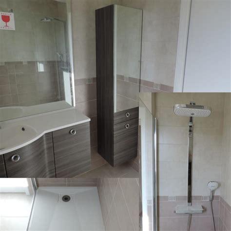 Merveilleux Salle De Bain Avec Baignoire Et Douche #8: salle-de-bain-wenge-rose.jpeg