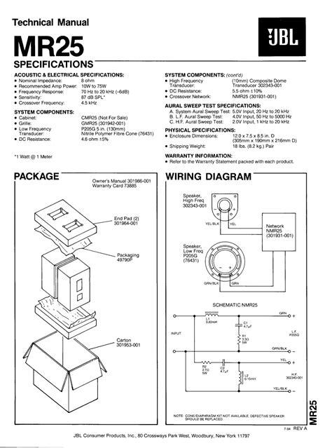 The Manual Of Speaking free pdf for jbl mr25 speaker manual