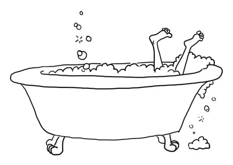 how to draw a bathtub line drawing karen b jones page 2