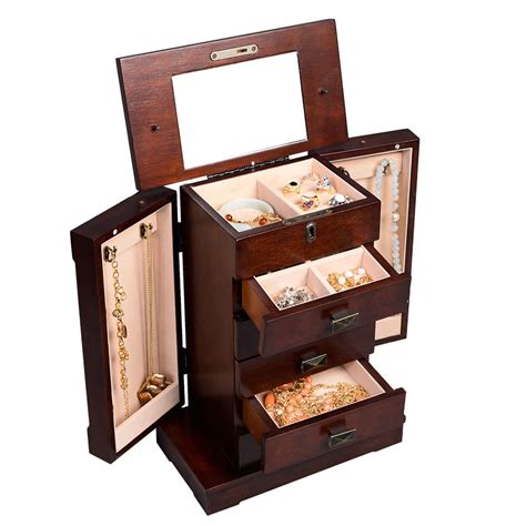 armoire organizer armoire jewelry cabinet box storage chest stand organizer
