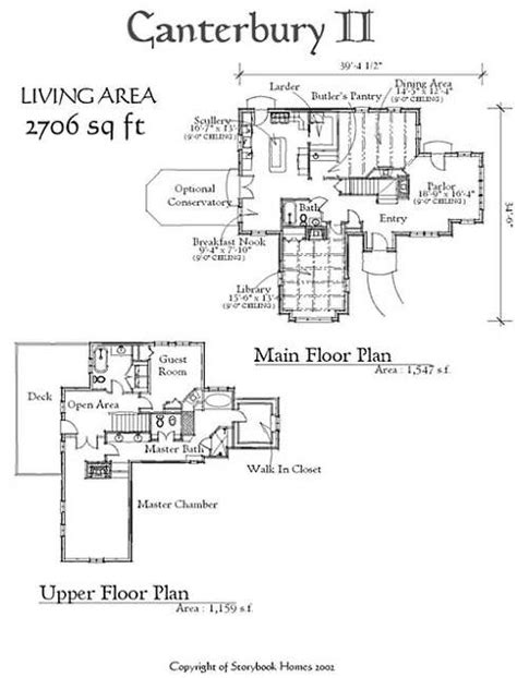 storybook cottage floor plans storybook house plans house design