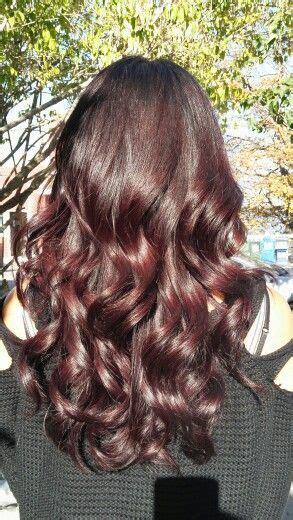 cherry coke hair color formula 25 best ideas about cherry cola hair color on pinterest