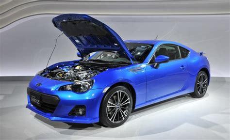 Who Makes Subaru Cars by 2013 Subaru Brz Sports Car Makes Us Debut Motorlogy