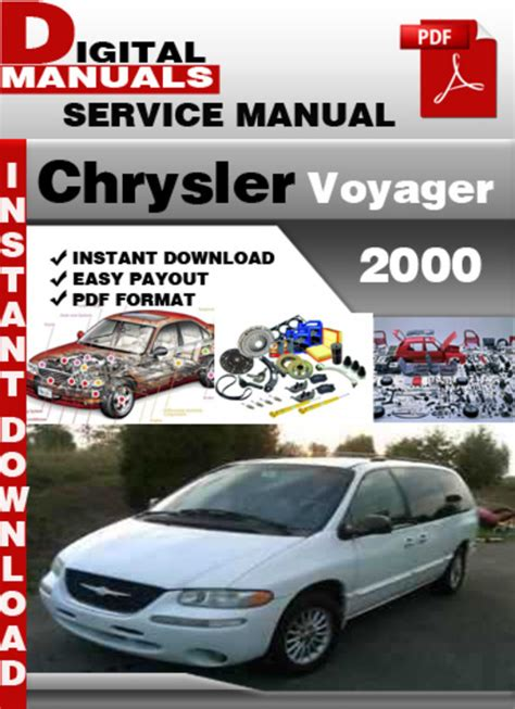 how to download repair manuals 2000 chrysler voyager electronic valve timing chrysler voyager 2000 factory service repair manual download manu