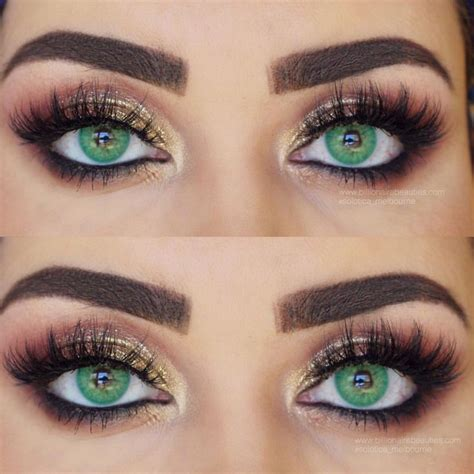 where can i find colored contacts gorgeous eye makeup complemented with solotica hidrocor