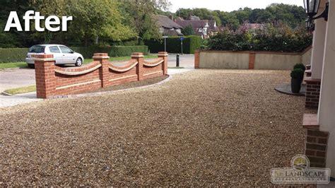 Concrete Block Houses gravel driveways essex gravel driveways chelmsford se