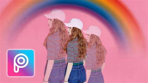 picsart tutorial clone cara edit rainbow clone effect di picsart android dan ios