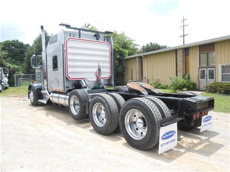 2001 kenworth for sale used 2001 kenworth w900 tri axle sleeper for sale in ms 5755