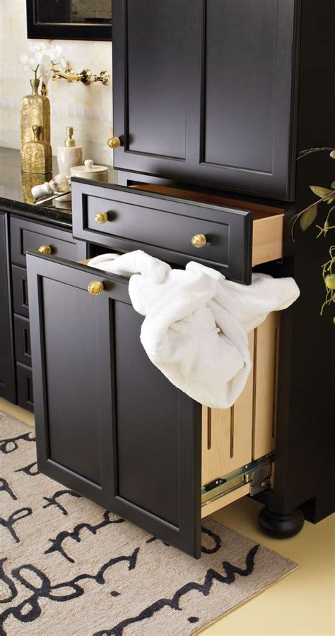 Laundry Room Laundry Sorter Cabinet Inspirations Black Laundry Black