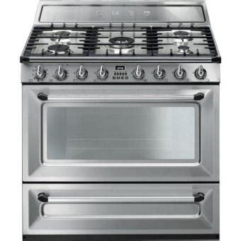 cocina de gas natural con horno cocina de gas natural smeg tr90x9 con horno los mejores
