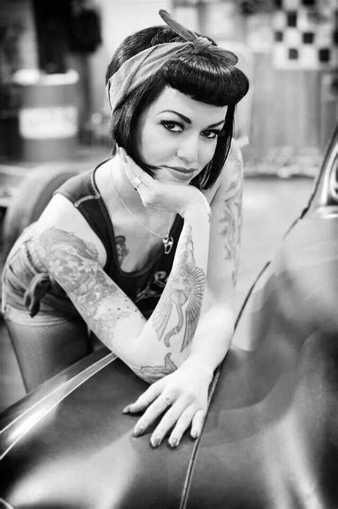 pin up hair style black lady 40 short rockabilly hairstyles for women and men hum ideas